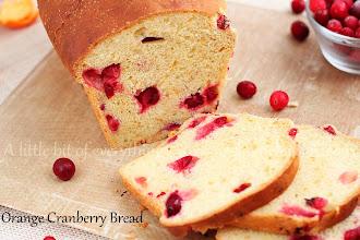 Photo: http://www.roxanashomebaking.com/orange-cranberry-bread-recipe/