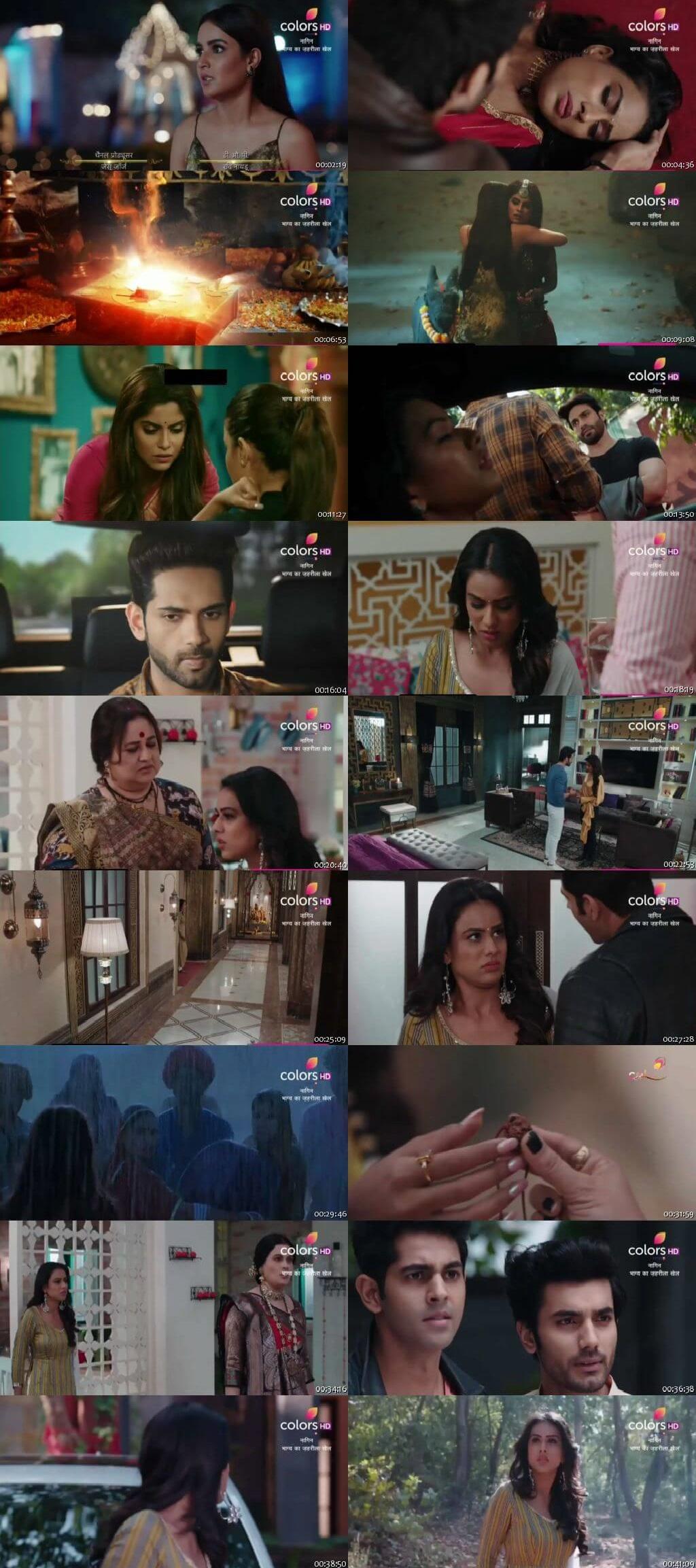 Screenshots Of Hindi Show Naagin Season 4 2020 Episode 09 300MB 480P HD