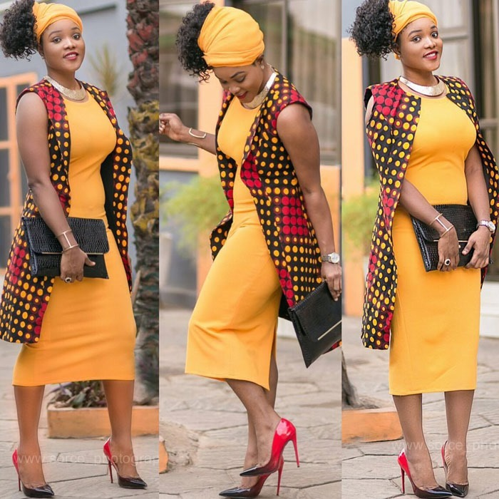 AMAZING  WORK DRESS FOR SOUTH AFRICAN LADIES 2
