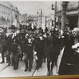 Zdjęcie zrobione pradziadkowi Andrzeja (pierwszy z prawej), przy okazji wizyty u jego babci na truskawkach