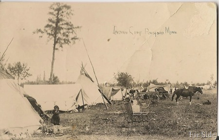 Ponsford MN Indian Camp