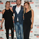 WWW.ENTSIMAGES.COM -   Joanne Mas, Danny Dyer and Dani Dyer  arriving at      We Still Kill The Old Way - private film screening at The Ham Yard Hotel, London September 29th 2014Private screening of forthcoming film about a group of former 1960s gangesters who come out of retirment to take on a group of youths after one of their number is murdered.                                                 Photo Mobis Photos/OIC 0203 174 1069