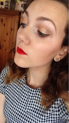Summer makeup look