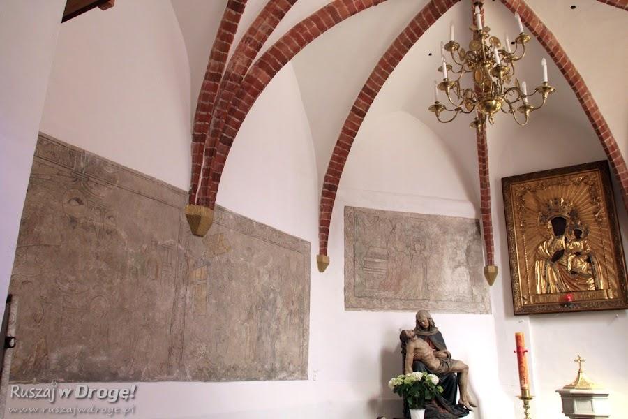 Gliwice - gotyckie polichromie w Kościele pw Wszystkich Świętych