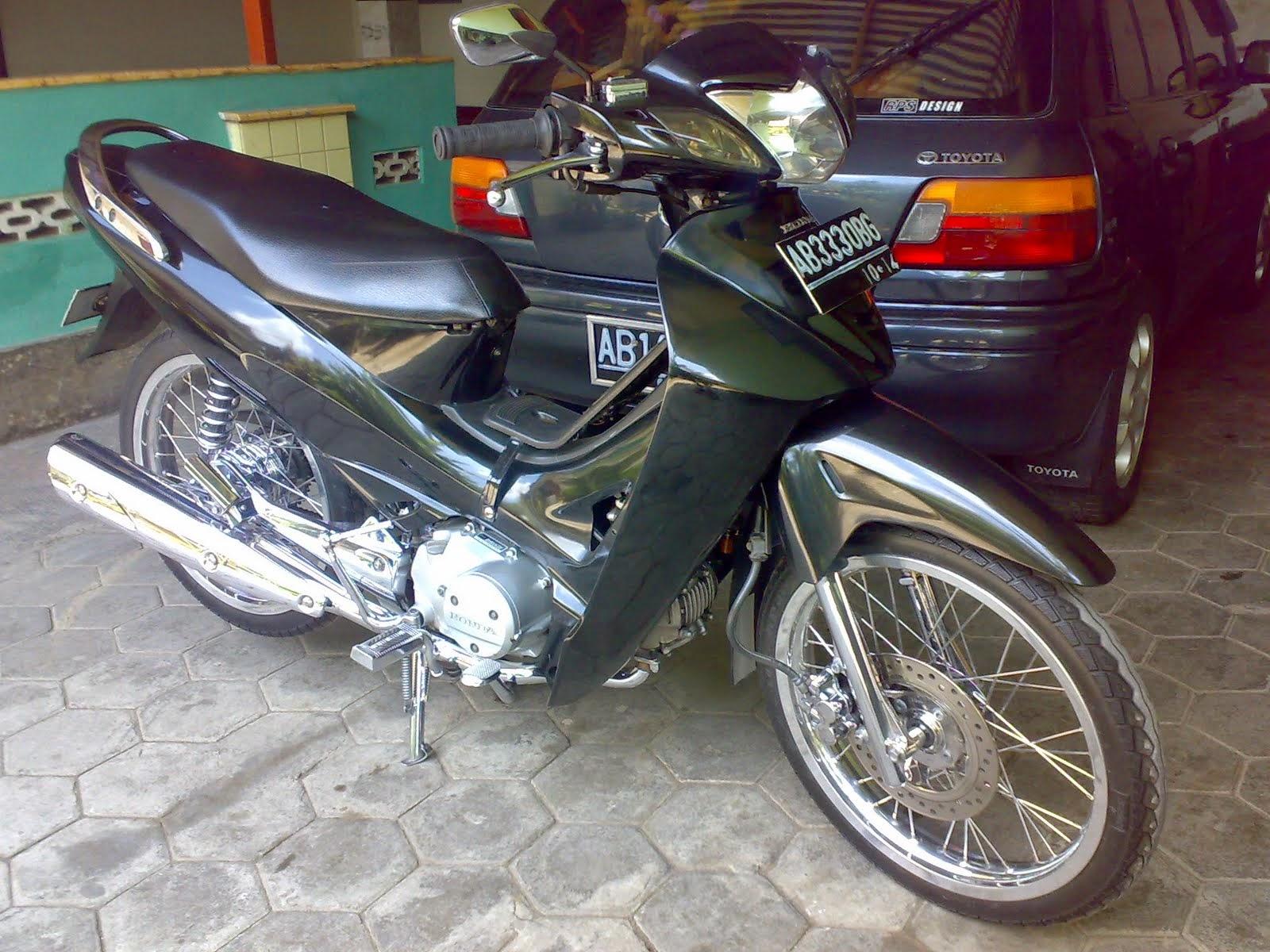 Foto Modifikasi Motor Honda Kharisma
