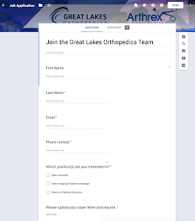 Google Form Job Application - Will the applicants see the ...