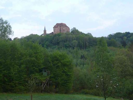 Le château de la Petite-Pierre.