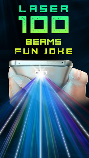 Laser 100 Beams Fun Joke