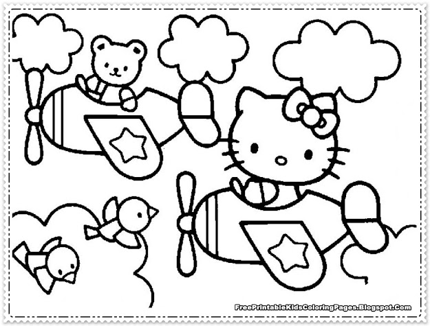 Goth Hello Kitty Coloring Pages Hello Kitty Keroppi Coloring