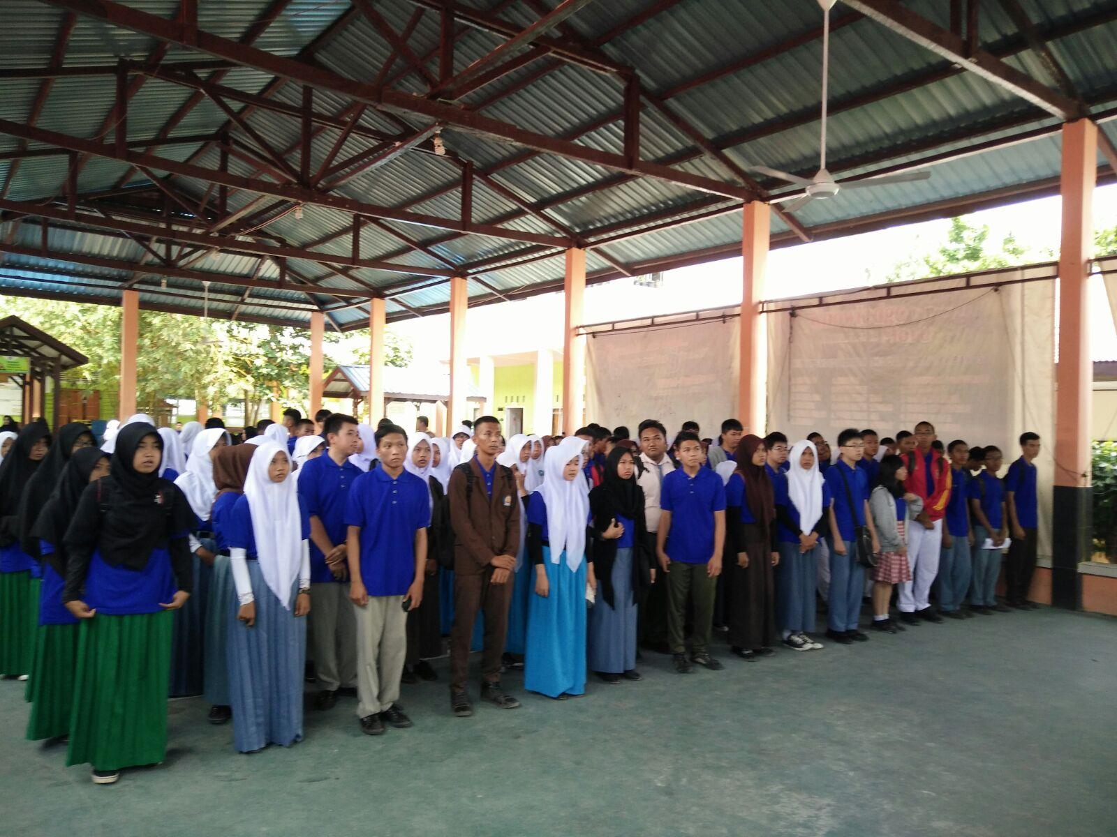 Team Osn Sma Maha Bodhi Mengikuti Seleksi Osn Tingkat Kabupaten Karimun Bertempat Di Sman 1