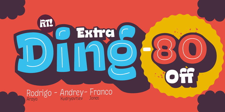 Download Ding Extra Font Family From RodrigoTypo