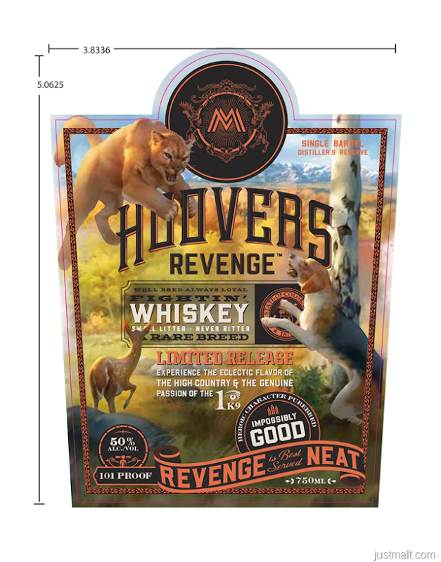 Marble Distilling Hoovers Revenge Fightin' Whiskey