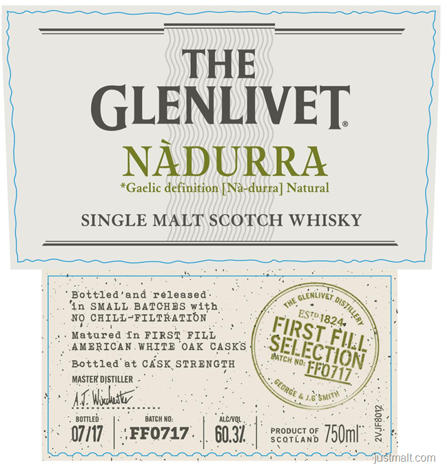 The Glenlivet Nadurra Single Malt Scotch Whiskey
