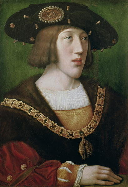 Sixteen-year-old Charles V.