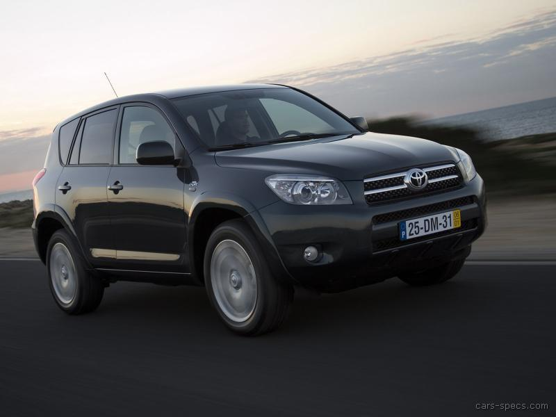 2007 toyota rav4 suv specifications pictures prices. Black Bedroom Furniture Sets. Home Design Ideas