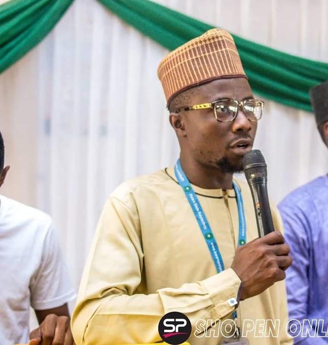 Olufadi unveils his book 'Chameleon Love'