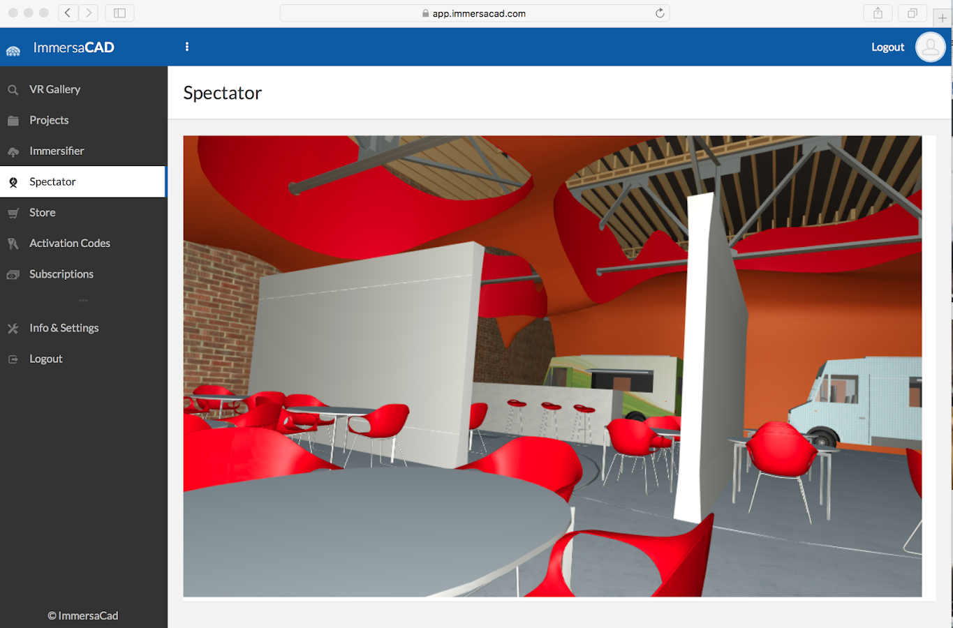 vCAD VR - Upload any CAD to VR- screenshot
