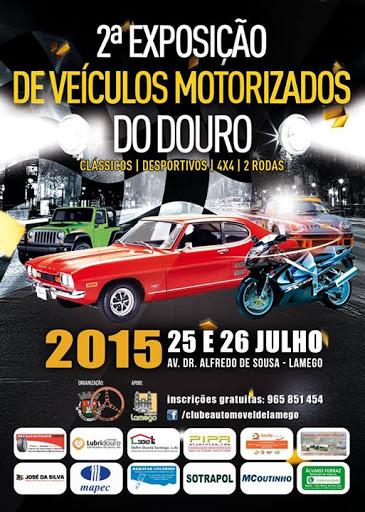 Fotos - II Exposição de Veículos Motorizados do Douro - Lamego - 2015