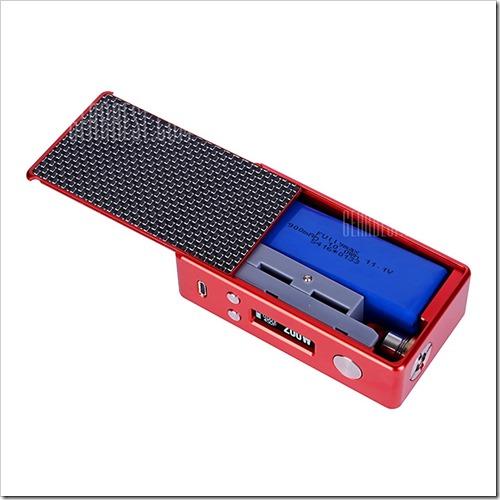20160406090120 49002%25255B5%25255D - 【MOD】Lost Vape Efusion DNA200 Mini TC Box Mod - REDが183ドルで安い!ただしバッテリーはLipo【最強DNA200】