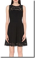 Ted Baker cut out detail jersey dress