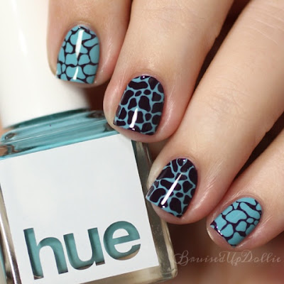Square Hue Bike Amsterdam nail art