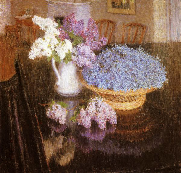 Igor Grabar - Lilacs and Forget-Me-Nots
