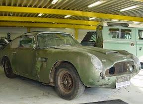 Abandoned Aston Martin DB5