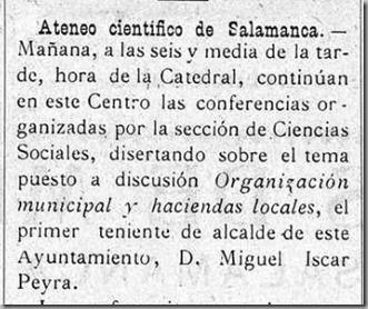 hora de la catedral ateneo Libertad 24 abril 1913