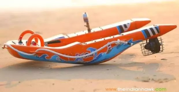 Indian Navy Gets Indigenously Developed Robotic Lifebuoys From Start-up