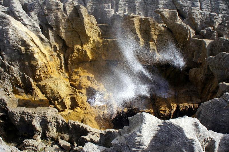 Pancake Rocks Blowhole