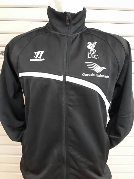 Jaket Training Liverpool Hitam Garuda Indonesia 2014-2015