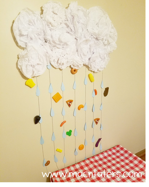 Cloudy With A Chance of Meatballs Wall Decor