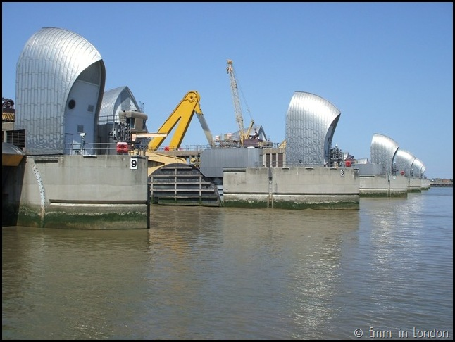 Thames Barrier 9 London