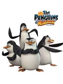 Los pingüinos de madagascar [Temporada 1, 2 y 3][Mega][latino]