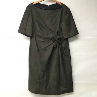 Gucci Olive Wool Dress