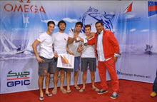 Sam Gilmour- J/24 sailor winning Kingdom Match Cup regatta- Bahrain