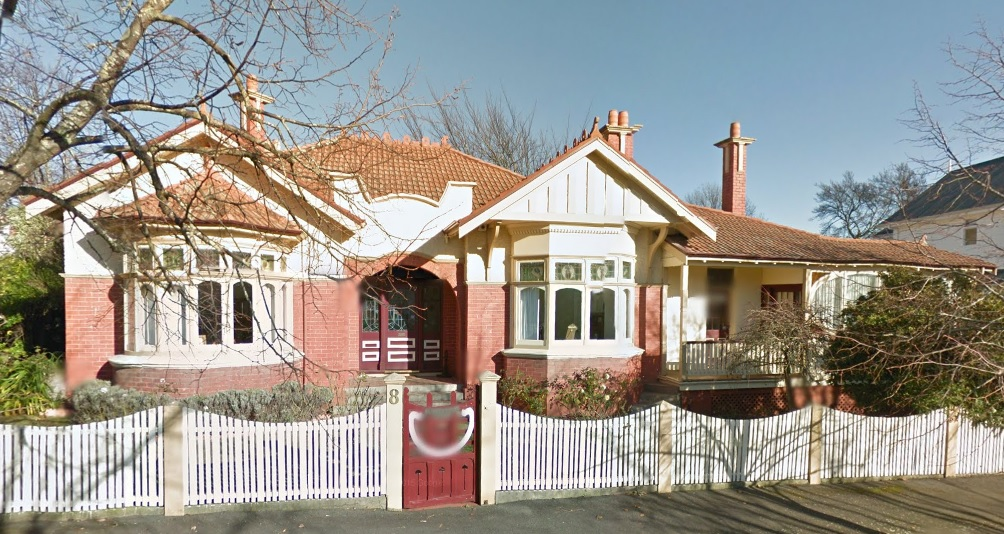 Rathgael, 8 Rupert Street, East Launceston, Streetview