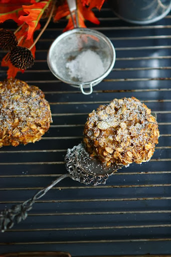 Gluten Free Vegan Spiced Pumpkin Oat Cookies