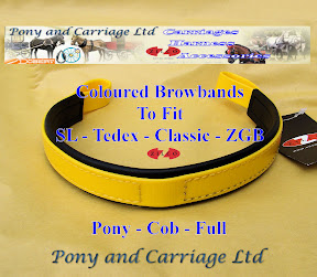 Zilco Harness Yellow Colour Substitute Brow bands