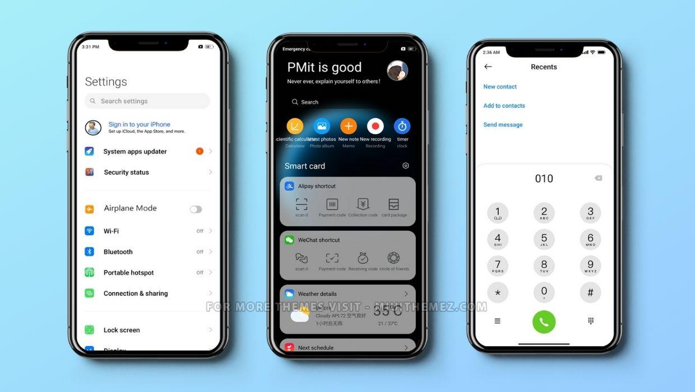 Future iOS MIUI Theme