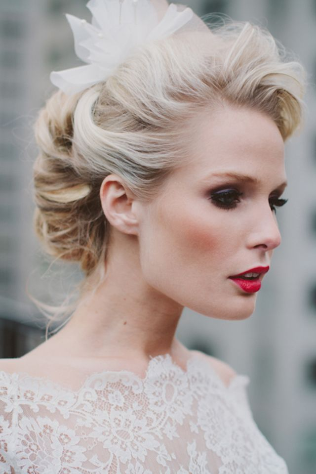 +10 Vintage Wedding Hairstyles For Women's 5