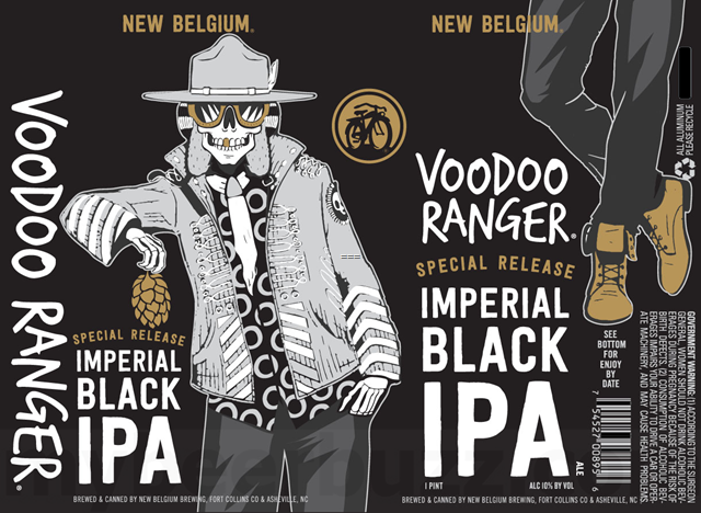New Belgium Adding Voodoo Ranger Imperial Black IPA Cans