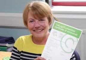 Cae Post wins green award