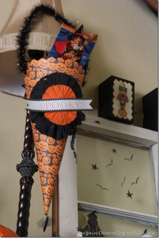 Spooky Halloween Cone
