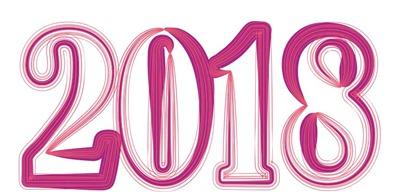 Картинки цифры 2018 пнг