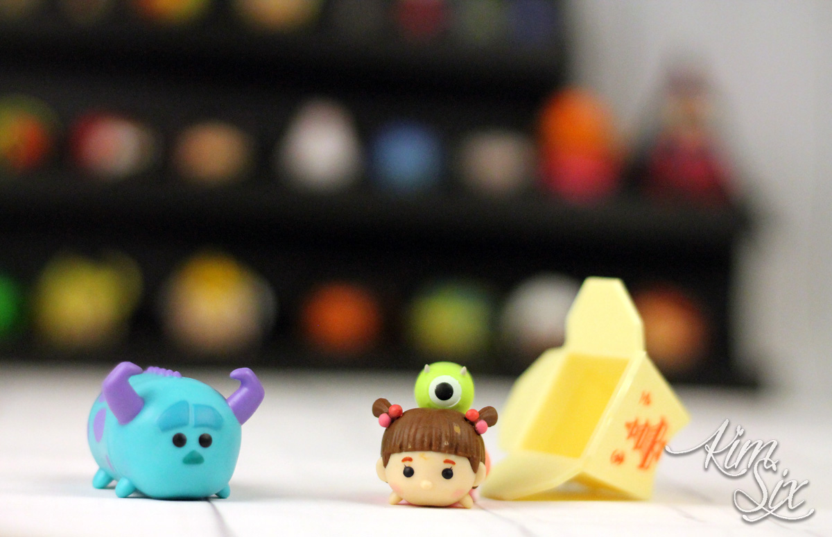 Tsum Tsum minatures display