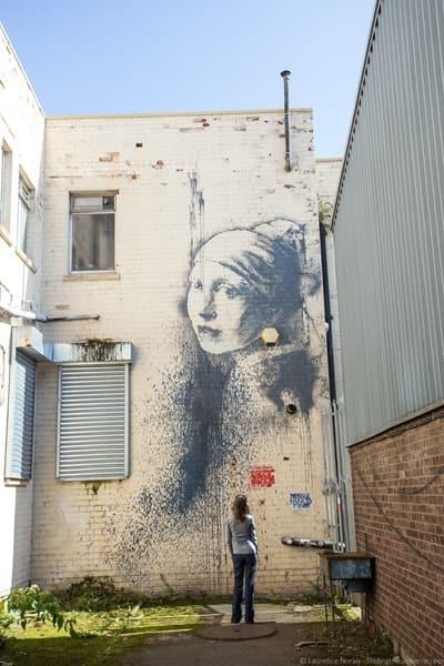 Banksy Street Art Bristol