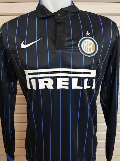 Jual Jersey Inter Milan Home Lengan Panjang  2014-2015