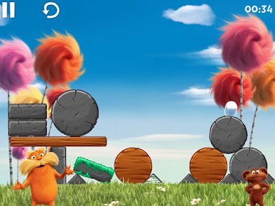 Lorax game iPad Level 39