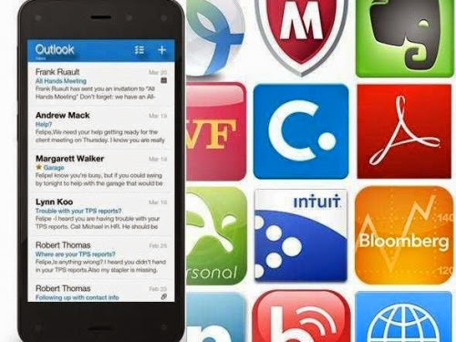 Amazon Fire phone business apps